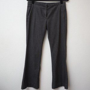 Theory Gray Womens Trousers Size 8